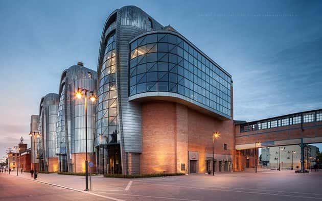 Obiekt zabezpieczony impregnatem ogniochronnym HOLZProf: Centrum Nauki i Techniki EC1 w Łodźi